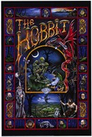 The Hobbit, animated - style C Fine Art Print