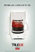 True Blood - Cup of Joe - style S Framed Print