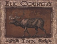 Elk Country - Mini Framed Print