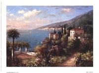 Coastal Gardens II Fine Art Print