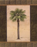 East Indies Palm I - mini Framed Print