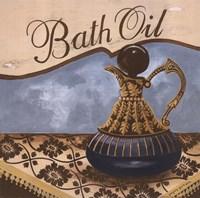Bath Accessories II Framed Print