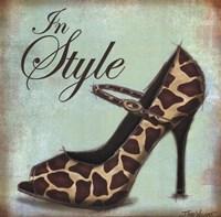 Exotic Shoe II Framed Print