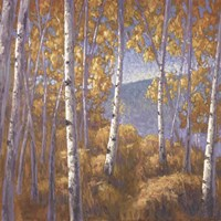 Fall Aspen I - mini Fine Art Print