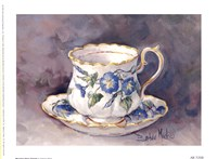 Morning Glory Teacup Fine Art Print