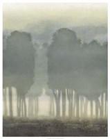 Treeline Haze I Framed Print