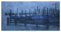 Blue Canal II Fine Art Print