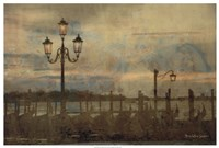 Dawn & the Gondolas I Framed Print