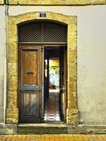 Weathered Doorway III Fine Art Print