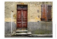Weathered Doorway IV Fine Art Print