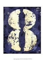 Vintage Numbers VIII Fine Art Print