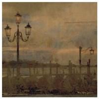 Mini Dawn and the Gondolas I Fine Art Print
