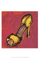 Diva Shoe I Fine Art Print