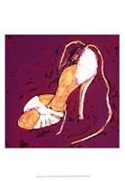 Sassy Shoe I Fine Art Print