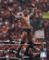 Randy Orton Wrestlemania 26 Action Fine Art Print