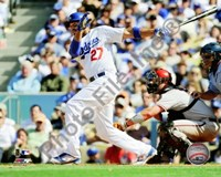 Matt Kemp 2010 Action Fine Art Print