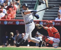 Derek Jeter 2010 Batting Action Fine Art Print