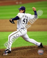 Trevor Hoffman 2010 Milwaukee Brewers Fine Art Print