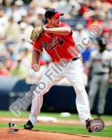 Derek Lowe 2010 Action Fine Art Print