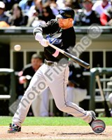 Adam Lind batting 2010 Action Fine Art Print