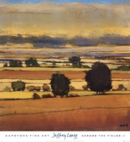 Across The Fields II Framed Print