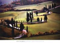 Strada Per Monticchiello Framed Print