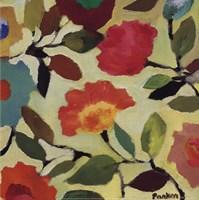 Floral Tile IV Framed Print