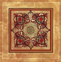 Italian Tile III Framed Print