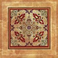 Italian Tile IV Framed Print