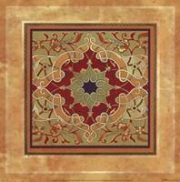 Italian Tile V Framed Print