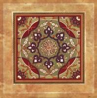 Italian Tile VI Framed Print