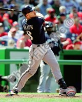 Ryan Braun 2010 Action Fine Art Print