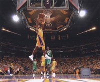 Kobe Bryant Game One of the 2009-10 NBA Finals (#2) Fine Art Print