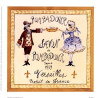 Pompadour II Framed Print