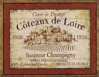 French Wine Labels II Framed Print