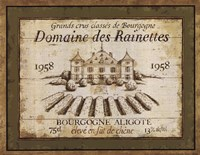 French Wine Labels III Fine Art Print