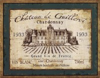 French Wine Labels IV Framed Print