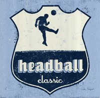 Headball Framed Print