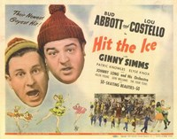 Abbott and Costello, Hit the Ice, c.1943 Framed Print