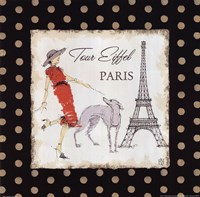 Ladies in Paris II Framed Print