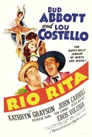 Abbott and Costello, Ria Rita, c.1942 Fine Art Print
