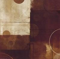 Geometric Spice III Framed Print