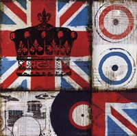British Rock II Fine Art Print