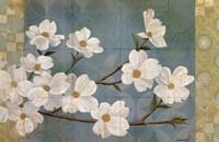 Kimono Blossoms Fine Art Print