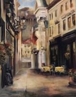 Old Town II Fine Art Print