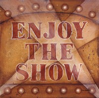 Enjoy The Show Fine Art Print