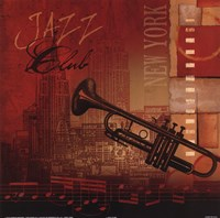 Jazz Club Fine Art Print