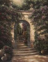 Watson's Garden I Fine Art Print
