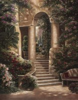 Watson's Garden II Fine Art Print