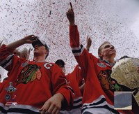 Jonathan Toews & Patrick Kane Chicago Blackhawks 2010 Stanley Cup Champions Victory Parade (#60) Fine Art Print